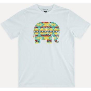 Ruhák Férfi Rövid ujjú pólók Trendsplant NAVAJO 029940MNAV Fehér