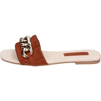 Cipők Női Papucsok Miss Unique Szandál BH145 Barna