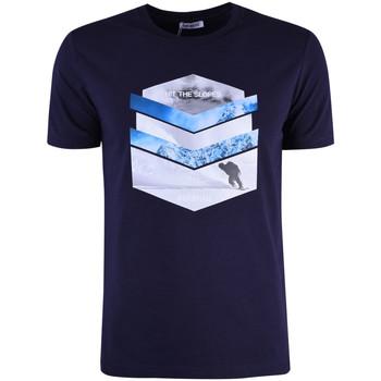 Ruhák Férfi Rövid ujjú pólók Bikkembergs  Kék