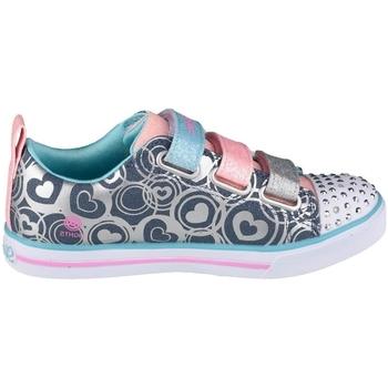Cipők Lány Rövid szárú edzőcipők Skechers Sparkle Lite Heartsland