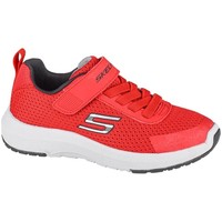 Cipők Gyerek Rövid szárú edzőcipők Skechers Dynamic Tread Piros