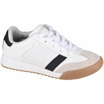 Cipők Gyerek Rövid szárú edzőcipők Skechers Zinger Fehér