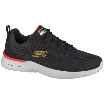 Cipők Férfi Rövid szárú edzőcipők Skechers Skechair Dynamight Fekete