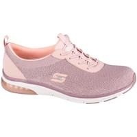 Cipők Női Rövid szárú edzőcipők Skechers Skechair Edge Rózsaszín