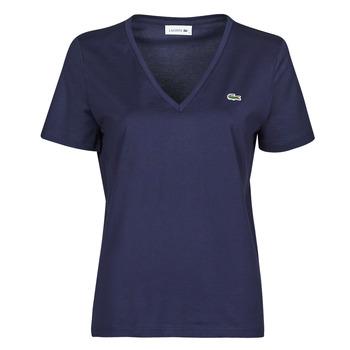 Ruhák Női Rövid ujjú pólók Lacoste LOUIS Tengerész