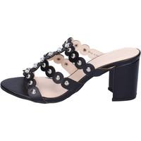 Cipők Női Papucsok Silvian Heach BH155 Fekete