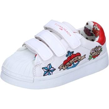 Cipők Lány Rövid szárú edzőcipők Silvian Heach BH156 Fehér