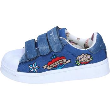 Cipők Lány Rövid szárú edzőcipők Silvian Heach BH157 Kék