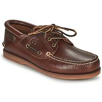 Cipők Vitorlás cipők Timberland Classic Boat 3 Eye Padded Collar Barna