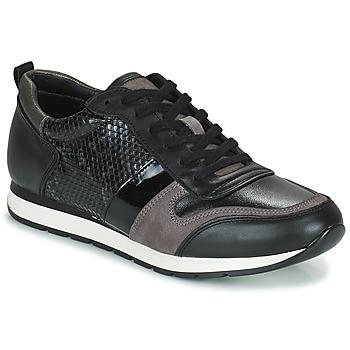 Cipők Női Rövid szárú edzőcipők Betty London PERMINE Fekete