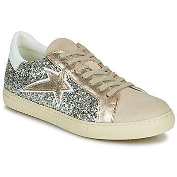 Cipők Női Rövid szárú edzőcipők Betty London PAPIDOL Szürke