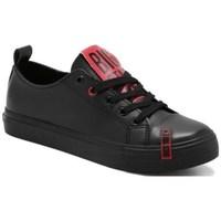 Cipők Női Rövid szárú edzőcipők Big Star EE274303 Fekete