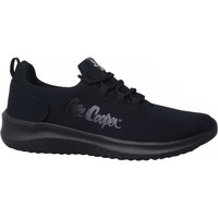 Cipők Női Rövid szárú edzőcipők Lee Cooper Lcw 21 32 0271L Fekete