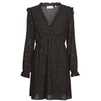 Ruhák Női Rövid ruhák Moony Mood ABBARETZE Fekete