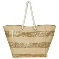Táskák Női Bevásárló szatyrok / Bevásárló táskák Betty London  Bézs / Arany
