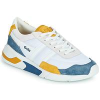 Cipők Női Rövid szárú edzőcipők Gola GOLA ECLIPSE Fehér / Kék / Citromsárga