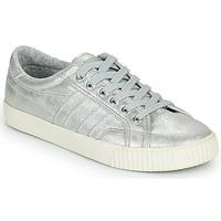 Cipők Női Rövid szárú edzőcipők Gola GOLA TENNIS MARK COX SHIMMER Ezüst
