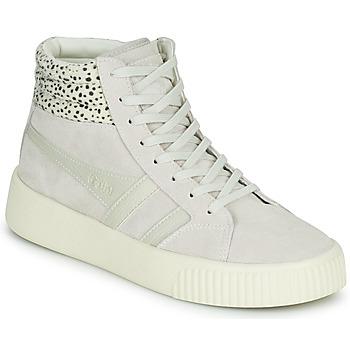 Cipők Női Rövid szárú edzőcipők Gola GOLA BASELINE SAVANNA Fehér