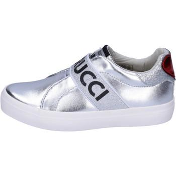Cipők Lány Belebújós cipők Fiorucci BH178 Ezüst