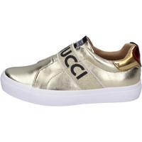 Cipők Lány Belebújós cipők Fiorucci BH179 Arany