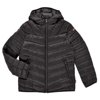 Ruhák Fiú Steppelt kabátok Napapijri AERONS Fekete