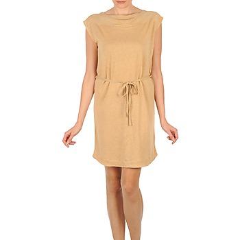 material Női Rövid ruhák Majestic CAMELIA Bézs