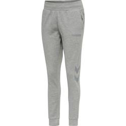 Ruhák Női Futónadrágok / Melegítők Hummel Pantalon femme  hmlLEGACY tapered gris