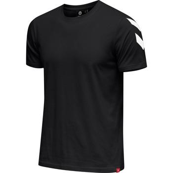 Ruhák Férfi Rövid ujjú pólók Hummel T-shirt  hmlLEGACY chevron noir