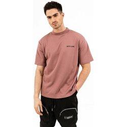 Ruhák Férfi Rövid ujjú pólók Sixth June T-shirt  essential rose