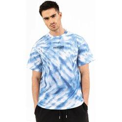 Ruhák Férfi Rövid ujjú pólók Sixth June T-shirt  tie dye bleu