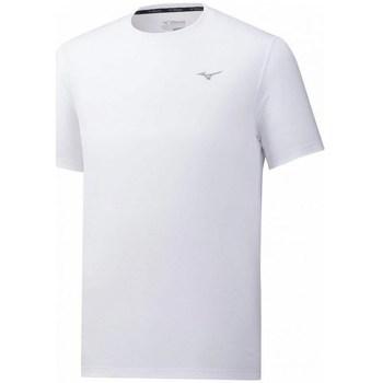Ruhák Férfi Rövid ujjú pólók Mizuno Impulse Core Tee Fehér