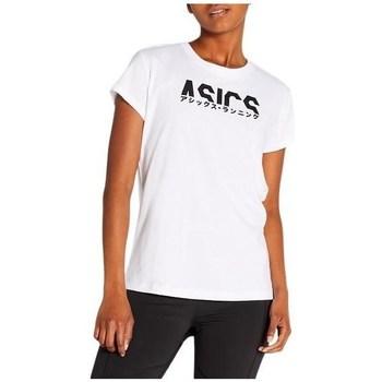 Ruhák Női Rövid ujjú pólók Asics Katakana Graphic Tee Fehér