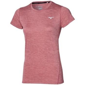 Ruhák Női Rövid ujjú pólók Mizuno Impulse Core Tee Rózsaszín