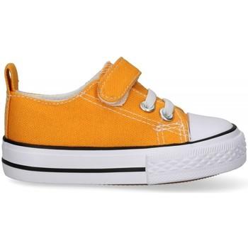 Cipők Fiú Oxford cipők & Bokacipők Luna Collection 57726 Citromsárga