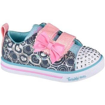 Cipők Lány Rövid szárú edzőcipők Skechers Sparkle Litelil Heartsland