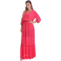 Ruhák Női Hosszú ruhák Gaudi 011FD15029 Rózsaszín