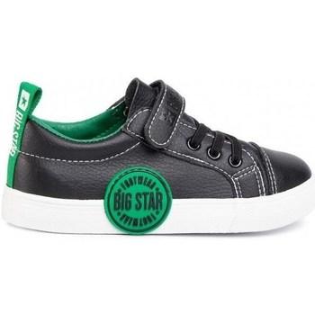 Cipők Gyerek Rövid szárú edzőcipők Big Star FF374087 Fekete