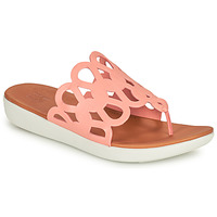 Cipők Női Lábujjközös papucsok FitFlop ELODIE Rózsaszín