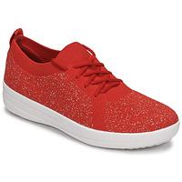 Cipők Női Rövid szárú edzőcipők FitFlop F-SPORTY Piros
