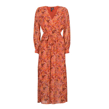 Ruhák Női Hosszú ruhák Vero Moda VMFLOW Piros