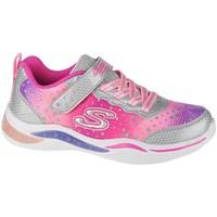 Cipők Lány Rövid szárú edzőcipők Skechers Power Petalspainted Daisy Rózsaszín