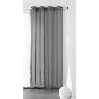 Otthon Függönyök Linder KAOLIN Szürke / Sötét