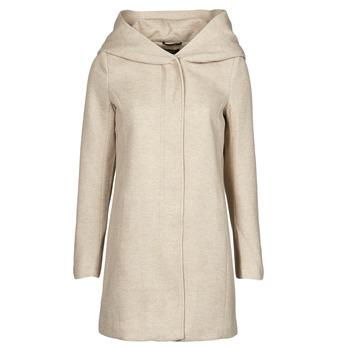 Ruhák Női Kabátok Only ONLSEDONA Bézs