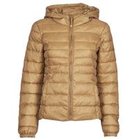 Ruhák Női Steppelt kabátok Only ONLTAHOE Barna