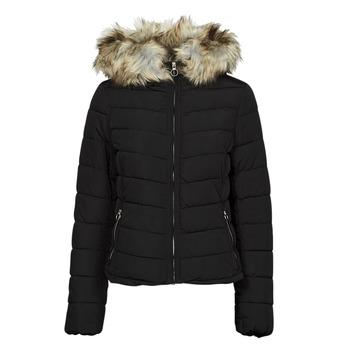 Ruhák Női Steppelt kabátok Only ONLNEWELLAN Fekete