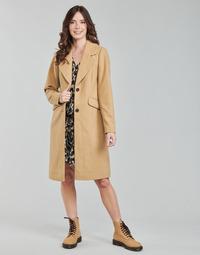 Ruhák Női Kabátok Only ONLLOUIE Teve