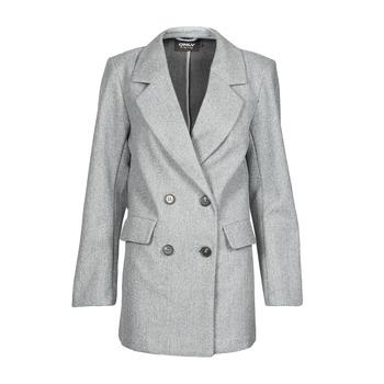Ruhák Női Kabátok Only ONLVICTORIA Szürke