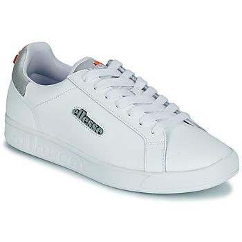 Cipők Női Rövid szárú edzőcipők Ellesse CAMPO Fehér / Ezüst
