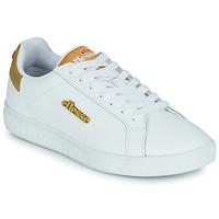 Cipők Női Rövid szárú edzőcipők Ellesse CAMPO Fehér / Arany