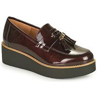 Cipők Női Mokkaszínek Fericelli JOLLEGNO Bordó